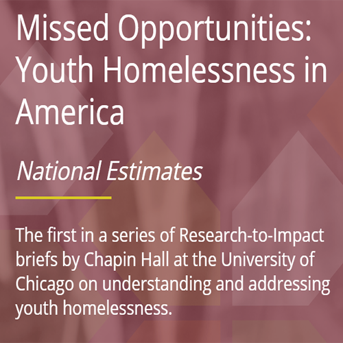 We have numbers: national estimates for youth homelessness in America