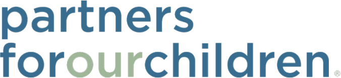 Partners For Our CHildren Logo